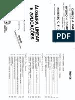 Álgebra Linear e Aplicações - Callioli