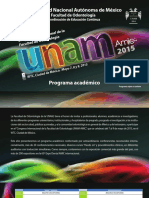 Programa académico UNAM AMIC 28_04_2015