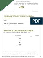 Principio de Fe Publica Registral_ Fundamento