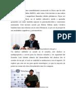 Un invento ecuatoriano mundialmente reconocido es Fayac que ha sido ganador de dos medallas IMPEX.docx