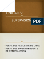 Unidad v Supervision