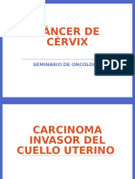 Diapositivas Cancer de Cervix