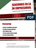 Aplicaciones en La Gestión Empresarial Expo Calidad