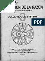 WHITEHEAD, ALFRED - La Función de la Razón [por Ganz1912].pdf