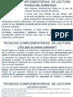 10 Decima Clase Tecnicas Complementarias de Lectura.pptx Oficial