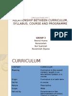 Curriculum Studies Topic 1