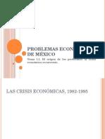 Tema 1.1.. La Crisis Económica Recurrente.