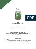 Case Report Session - Chorea