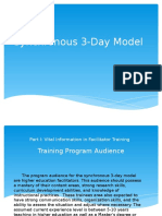 synchronous 3-day model