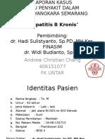 Case Hepatitis B Kronis - Andrew 406151077