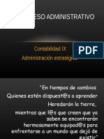 Proceso Administrativo y Planificación Estratégica