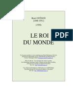 Roi Du Monde