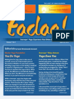 Tadaa! Magazine of the Svaroopa Sciences Vol. 1 No. 4 April 2013