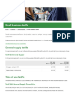 Ergon Energy Retail - Small Business Tariffs