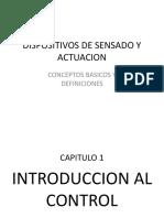 Capitulo 1 - Dispositivos de Sensado y Actuacion