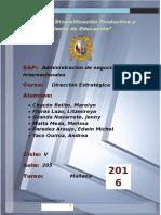 Direccion Estrategica-empresa Hectitors