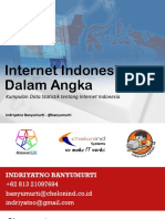 internet indonesia dalam angka kumpulan statistik
