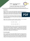 Design of an Ethylene Oxide Production Process