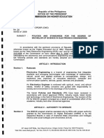CHED Memorandum Order Number 24, series of 2008