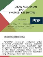 Pendidikan Kesehatan & Promosi Kesehatan
