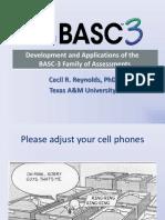 Basc-3 Three Hour Powerpoint