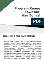 Bab 12 Program Ruang Kawasan Dan Zonasi