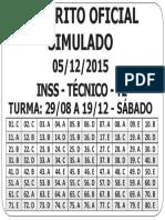 Gabarito - Inss - t2 - Goiás - Sábado - Integral