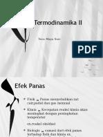Termodinamika II