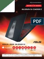 ASUS GL552VX-CN055T