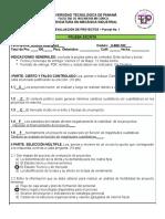 Parcial 1 - Evaluación de Proyecto - I Semestre 2016 (1)