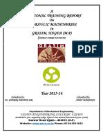Training Report SFD