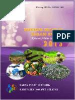 Kabupaten Konawe Selatan Dalam Angka 2015