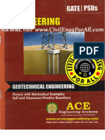 Geotechnical Engineering - Ace Engineering Academy Gate Materia
