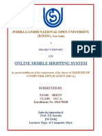 Frontpage for ignou