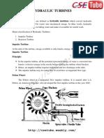BCM Hydralic Turbines