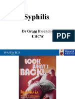 Syphilis Lecture