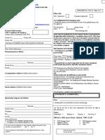 Enrolment Form Rev 16
