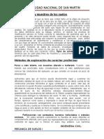 Informe ....de Exploracino d Esuelos