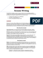 Resume Writing Your Objective in Writing a Resume is To