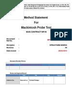 Mackintosh Probe Test