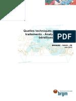 Rapport BRGM - Traitement Des Sols Polluées - Juin 2010