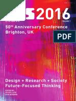 Proceedings of DRS 2016 volume 1