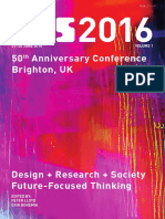 Proceedings of DRS 2016 volume 1
