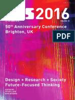 Proceedings of DRS 2016 volume 10