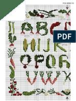 abecedario legumbres - ABC veggies