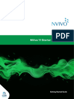 NVivo11 Getting Started Guide Starter Edition
