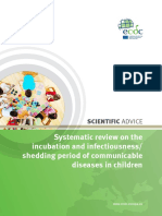Systematic Review Incubation Period Shedding Children