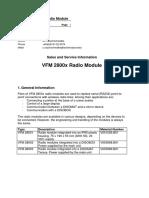 Info VFM GB VFM 2800x Radio Module