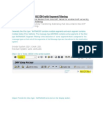 ALE IDOC With Segment Filtering