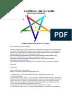 Caos - Ritual Gnóstico Do Pentagrama